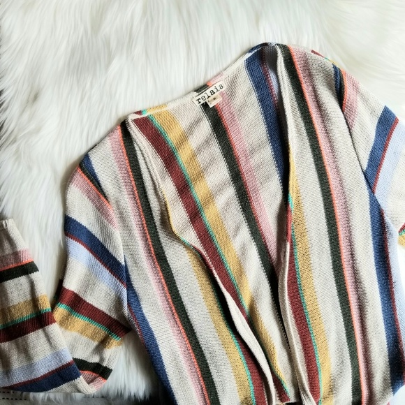 Relais Knitware Sweaters - Relais Colorful Long Cardigan